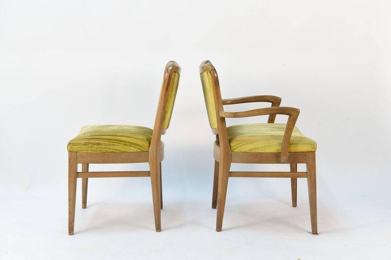 Set Of Six John Stuart Dining Chairs