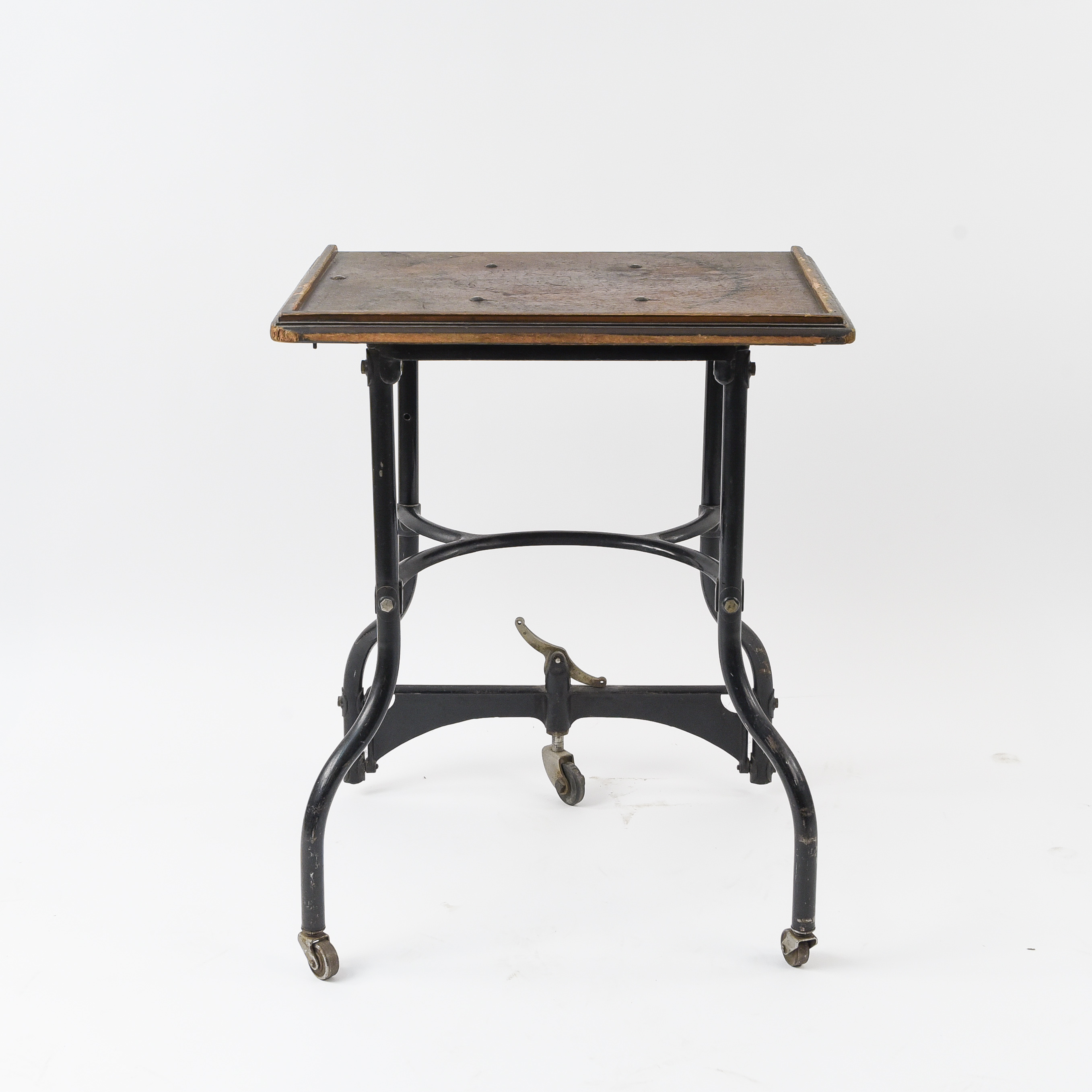 1930s Industrial Rolling Typewriter Work Table - West Port ...
